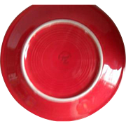 HLC USA Fiesta Fiestaware Scarlet Red Cereal Bowl