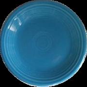 USA Fiesta Fiestaware Peacock Blue Dinner Plate