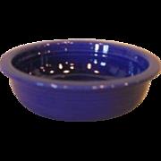 """Vintage Fiesta Fiestaware 4 3/4"""" Blue Fruit Bowl"""