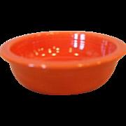 """Vintage Fiesta Fiestaware 4 3/4"""" Red Fruit Bowl"""