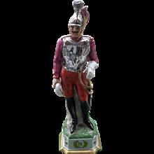 Vintage Capodimonte Italy Napoleonic Soldier Figurine