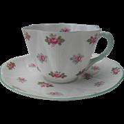 Shelley England Dainty Rosebud Teacup and Saucer 13426
