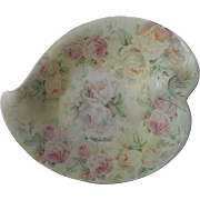 Royal Bayreuth Tapestry Rose Pin Dish