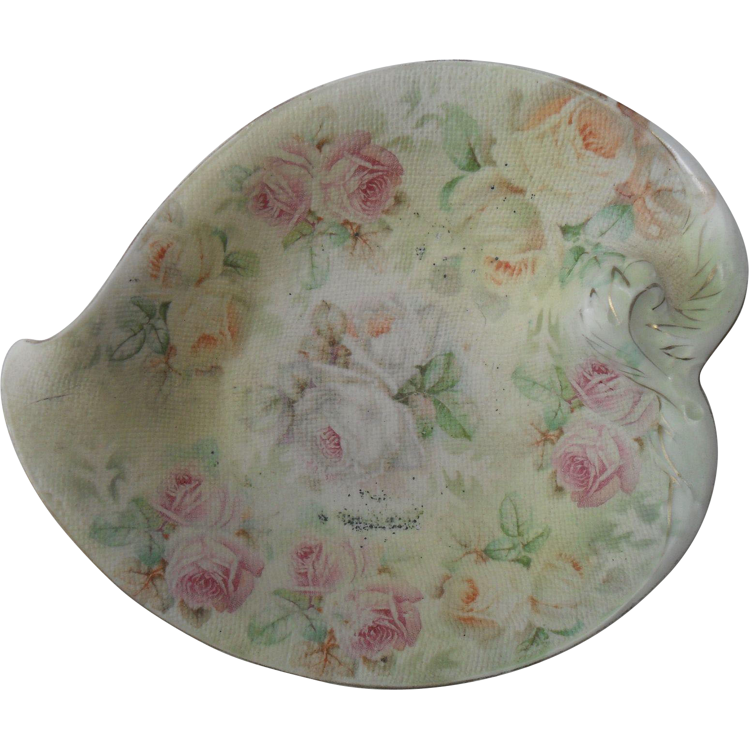 royal bayreuth tapestry rose pin dish from misssmithvt on ruby lane. Black Bedroom Furniture Sets. Home Design Ideas