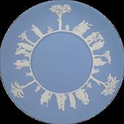 Vintage Wedgwood Blue Jasperware Serving Plate