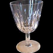 Baccarat France Lorraine (Casino) Cut Crystal Port Wine Glass