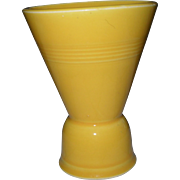 Vintage Homer Laughlin Harlequin Yellow Double Egg Cup Eggcup