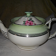 Vintage Paragon DW Queen Mary Pink Rose Teapot