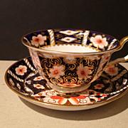 Royal Crown Derby Imari 2451 Teacup and Saucer 1929