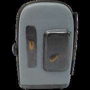 Figural Vintage Enamel Limoges Refrigerator Pill Box