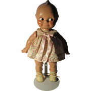Vintage Composition Kewpie Doll