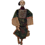Old Chinese Opera Costume Doll