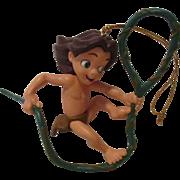 Vintage Disney Tarzan Ornament for Tree