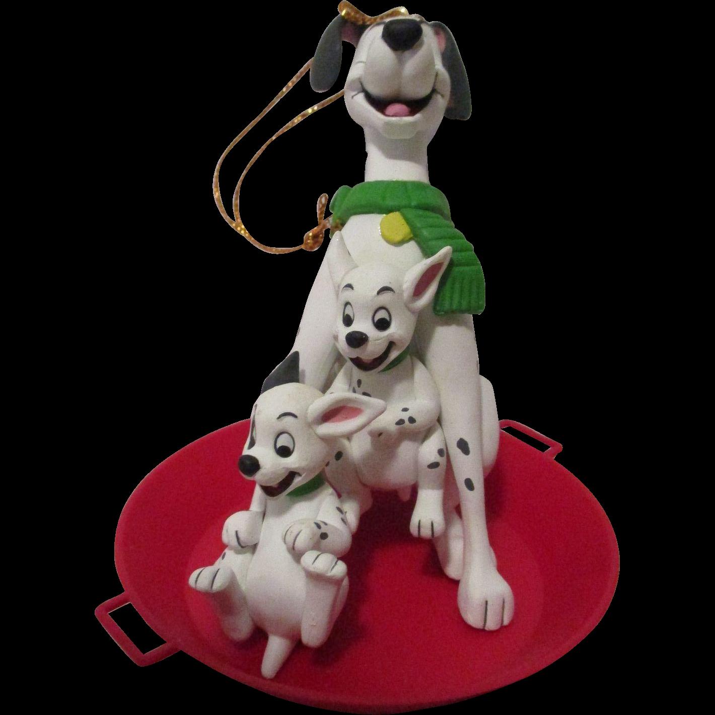 Vintage Disney 101 Dalmatians Christmas Ornament from atticangel ...
