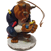 Vintage Disney The Beast Christmas Ornament