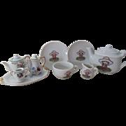 Vintage Porcelain Tea Set for Your Doll