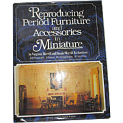 Reproducing Period Furniture and Accessories in Miniature Book