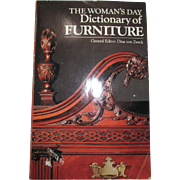 The Women's Day Dictionary Of Furniture Book By Dina Von Zwek
