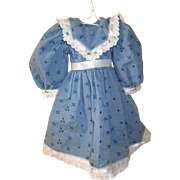 Vintage Blue Dress For Your American Girl Doll