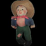 Vintage Felt Hobo Doll