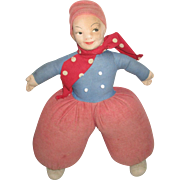 Vintage Cloth Felt Doll