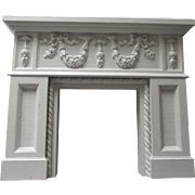 Vintage Fireplace Mantle For Your Miniature Doll House