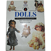Dolls The New Compact Study Guide and Identifier Book By Valerie Jackson-Douet and Brenda Gerwat-Clark