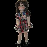 Vintage Effanbee Hard Plastic Doll