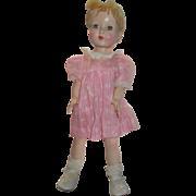 Vintage Effanbee Hard Plastic Doll - Red Tag Sale Item