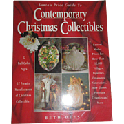 Contemporary Christmas Collectibles Book By Beth Dees