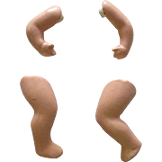 Vintage Bisque Arms and Legs For Your Doll