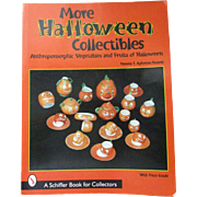 More Halloween Collectibles Anthropomorphic Vegetables and Fruits of Halloween Book By Pamela Apkarian-Russell