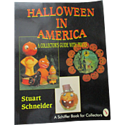 Halloween In america A Collector's Guide with Prices Book By Stuart Schneider