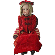 Antique CM Bergmann Simon Halbig Doll.