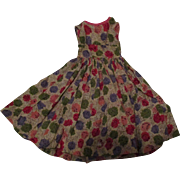 Vintage Dress For Your Cissy Doll.