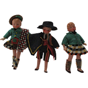 Antique Bisque German Dolls For Your DollHouse