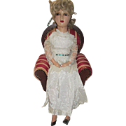 Vintage Composition and Cloth Boudoir Doll