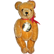 Vintage German Mohair Bear By Hermann -Teddy