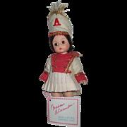 Vintage Madame Alexander Majorette Doll