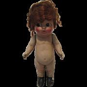 Vintage Composition Kewpie Doll For Repair