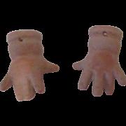 Vintage Porcelain Doll Hands