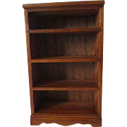 Vintage Wooden Doll House Book Shelf For Your Miniature