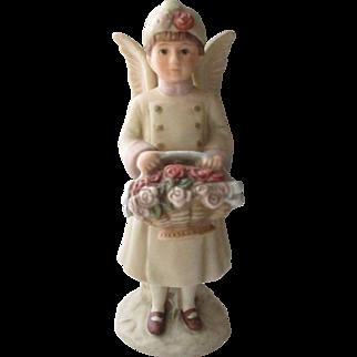 Vintage Porcelain Schmid Angel Doll