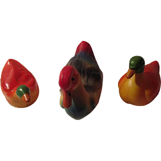 Vintage Celluloid Ducks