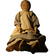 Vintage Cloth  Artist Doll