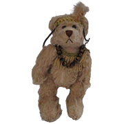 Vintage Mohair Courage Bear