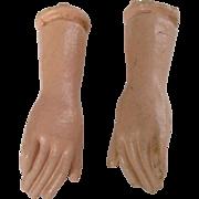 Vintage Doll Hands