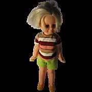 Vintage Ideal Velvet Doll