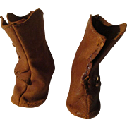 Vintage Boots For Your Doll