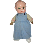Vintage Composition Googly Eye Composition Head Doll